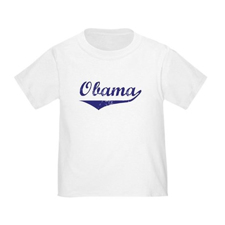 Obama (vintage-blue)  Toddler T-Shirt