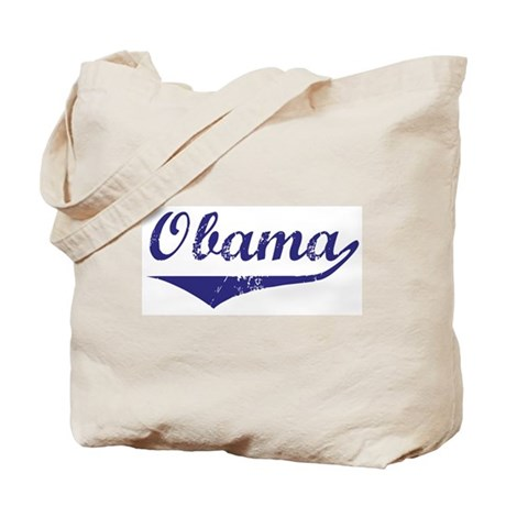 Obama (vintage-blue)  Tote Bag