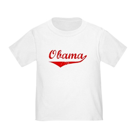 Obama (vintage-red) Toddler T-Shirt