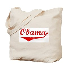 Obama (vintage-red) Tote Bag