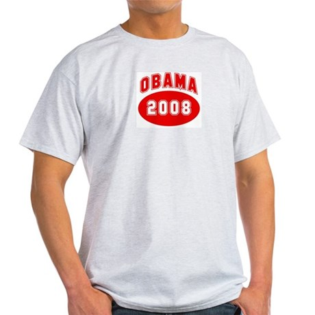 Obama 2008 (red) Light T-Shirt