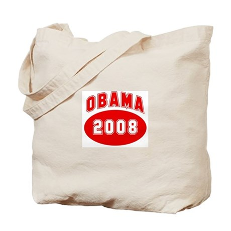 Obama 2008 (red) Tote Bag