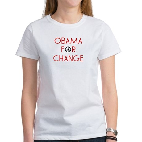 Obama For Change Women's T-Shirt