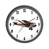 Cute Aviation art Wall Clock