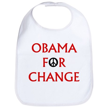 Obama for Change (Peace) Bib