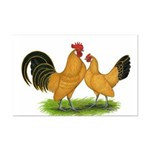 BT Buff Dutch Bantams Mini Poster Print