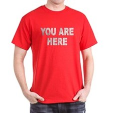You Are Here (Distressed) T-Shirt