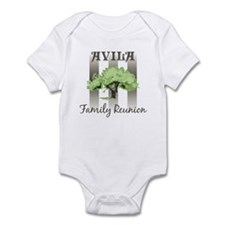 AVILA family reunion (tree) Infant Bodysuit