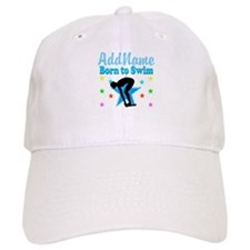 1ST PLACE SWIMMER Baseball Cap