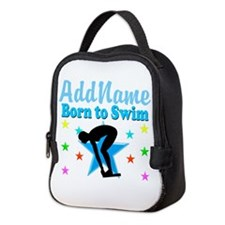 1ST PLACE SWIMMER Neoprene Lunch Bag