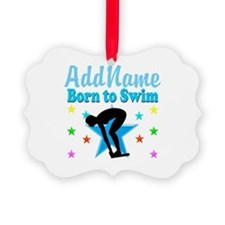 1ST PLACE SWIMMER Ornament