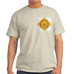 I Love Grandma & Grandpa Ash Grey T-Shirt