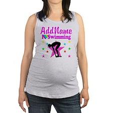 LOVE SWIMMING Maternity Tank Top
