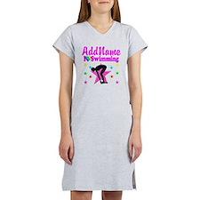 LOVE SWIMMING Women's Nightshirt