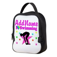 LOVE SWIMMING Neoprene Lunch Bag