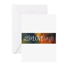 Unique Calligraphy Greeting Cards (Pk of 10)