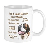 Saint Bernard FAQ Small Mugs