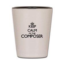Keep calm I'm the Composer Shot Glass