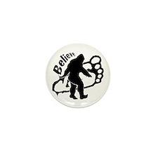 Bigfoot Believe Mini Button (10 pack)