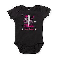 Pink Allstar Cheerleader Baby Bodysuit