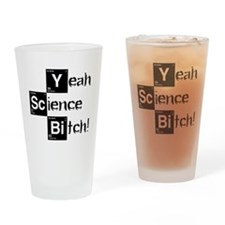Yeah, Science! Meme Drinking Glass