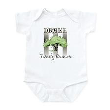 DRAKE family reunion (tree) Infant Bodysuit