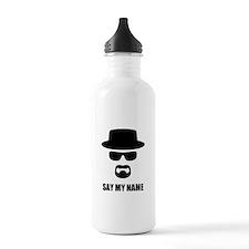 Custom Text Heisenberg Sports Water Bottle