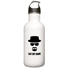 Custom Text Heisenberg Water Bottle