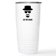 Custom Text Heisenberg Travel Mug