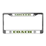 Soccer Coach Gift License Plate Frame