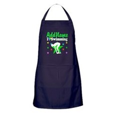 AWESOME SWIMMER Apron (dark)