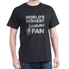 Curling Fan foam hand T-Shirt