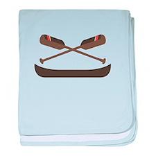 Row Canoe baby blanket