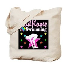 AWESOME SWIMMER Tote Bag