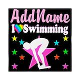 Swim team Queen Duvet Covers