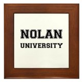 NOLAN UNIVERSITY Framed Tile