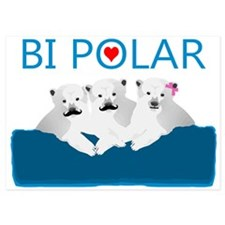 Bi Polar Bears Invitations