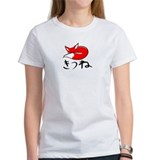 Girl's Pet the Kitsune Shirt