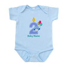 2nd birthday Infant Bodysuit