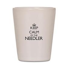 Keep calm I'm the Needler Shot Glass