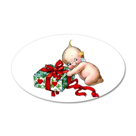 A Cupie Gift For You 35x21 Oval Wall Decal