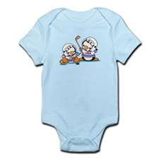 Ice Hockey Penguins (1) Infant Bodysuit