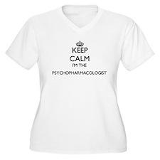 Keep calm I'm the Psychopharmaco Plus Size T-Shirt