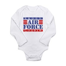 Cute Military uncle Long Sleeve Infant Bodysuit
