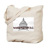Washington dc Tote Bags