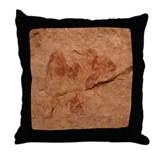 &amp;quot;Cave Art 1&amp;quot; Throw Pillow
