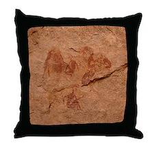 """""""Cave Art 1"""" Throw Pillow"""