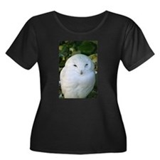 Snowy Owl Plus Size T-Shirt