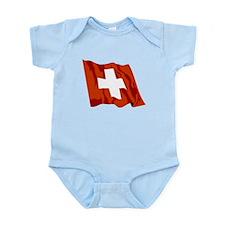 Switzerland Flag Body Suit