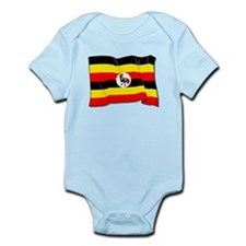 Uganda Flag Body Suit